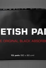 Fetish Pad - The Original Black Absorber 15-Pack