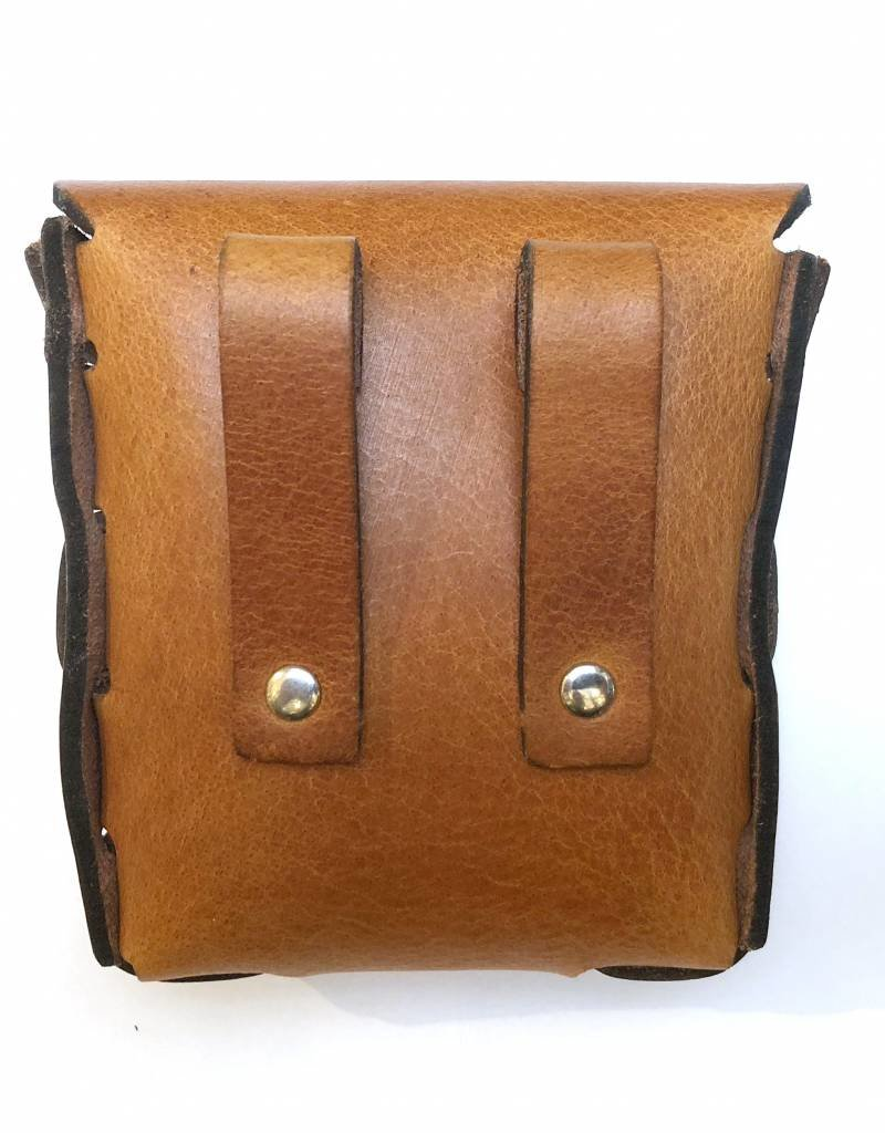 RoB Leather Belt Pouch brown small