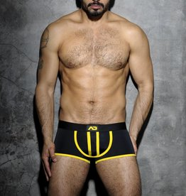 Addicted Stripe Fetish Boxer Black/Yellow