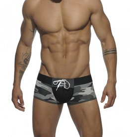 Addicted Tie-Up Boxer Camouflage with back opening