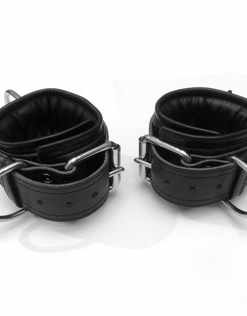 RoB Leather Ankle Restraints Extra Wide, Soft Padding