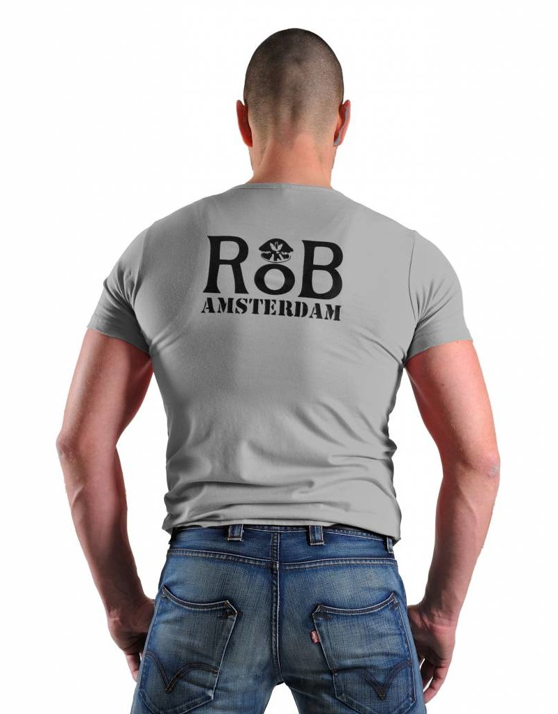 RoB RoB T-Shirt Grey/Black