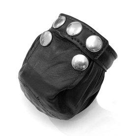 RoB Leather Cock & Ball Bag with Sharp Pins