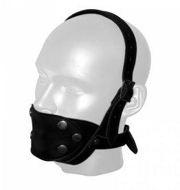 RoB Leren Kin Masker met uitwisselbaar mondstuk