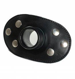RoB Pissknebel für Leder Kinnmaske / Leder Kopfgeschirr