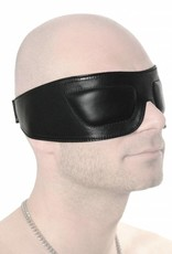 RoB Leather Blindfold with Padded Eyes