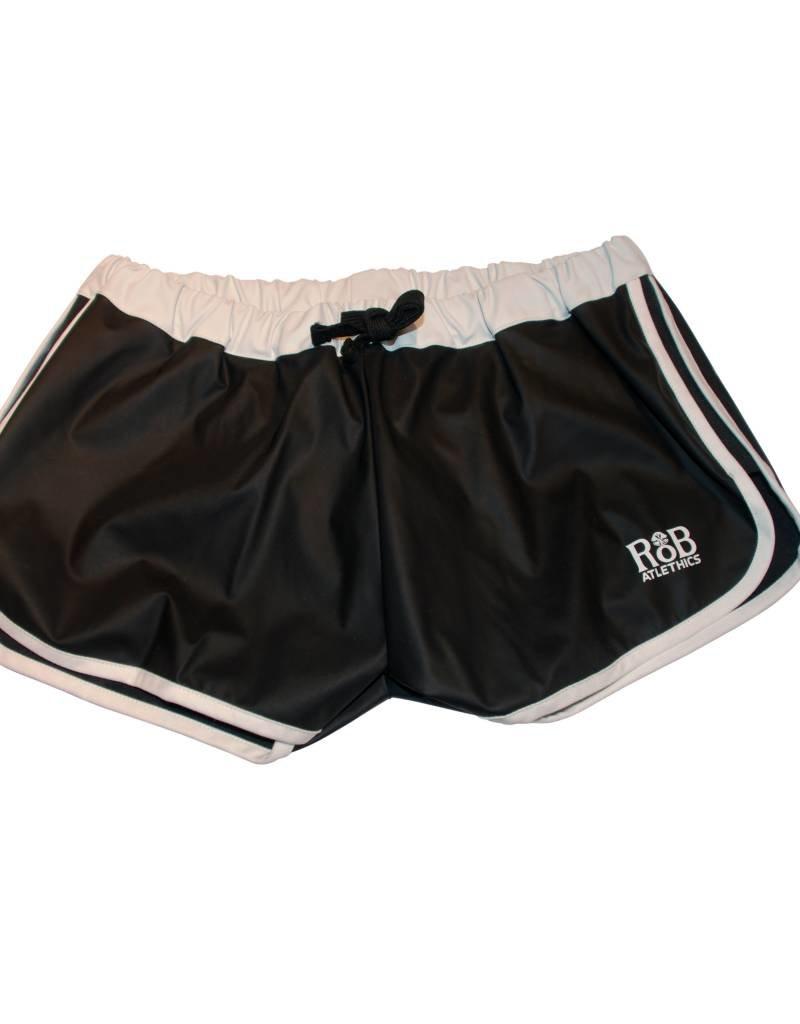 RoB F-Wear Sport Shorts black with white stripes