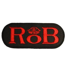 RoB RoB Patch Red for Jackets or Shirts