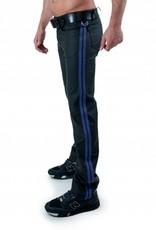RoB F-Wear Full Zip Jeans, Double Blue Stripes