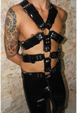 Fetishak Rubber Body Harness