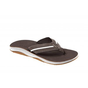 Reef Playa Cervesa Dark Brown/White