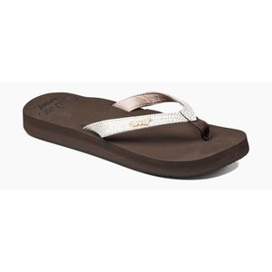 Reef Star Cushion Sa Brown/White