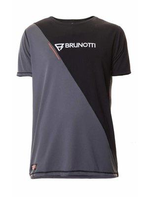 Brunotti RDP Defence Quick Dry S/S Zwart Grijs