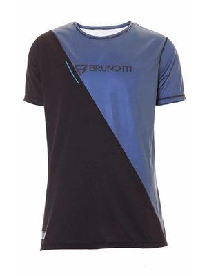 Brunotti RDP Defence Quick Dry S/S Zwart Blauw