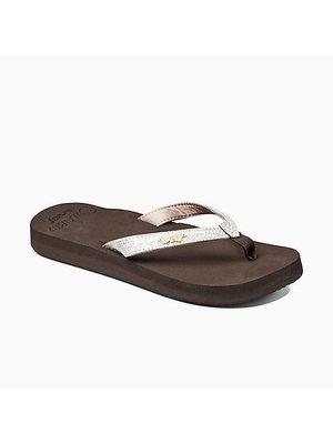 Reef Flip Flops Star Cushion Sa Brown White