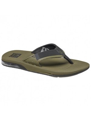 Reef Slipper Fanning Low Olive
