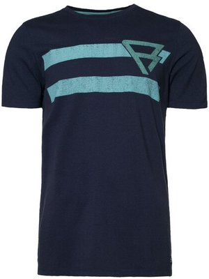 Brunotti Bart Men T-Shirt Graphi Blue