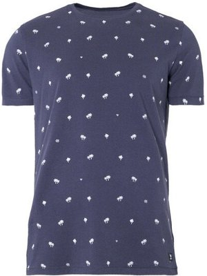 Brunotti Burrow Men T-Shirt Graphi Blue
