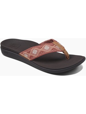 Reef Slipper Ortho-Bounce Woven Dusty Cor