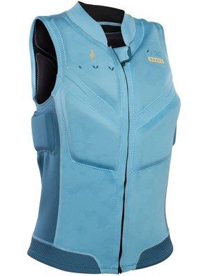 ION Dames impact vest Ivy Blue