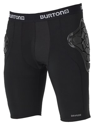 Burton Total Impact Short True Zwart