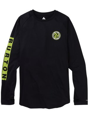 Burton Roadie Base Layer Tech T-Shirt Zwart