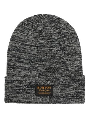 Burton Kactusbunch Tall Beanie True Black / Stout White Marl