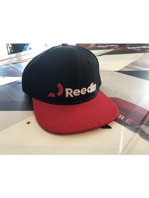 Reedin Cap Logo Zwart/Rood
