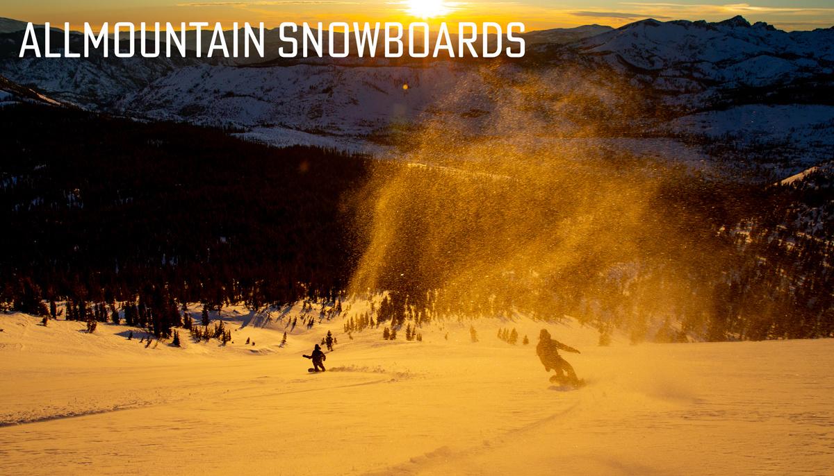 Allmountain Freeride snowboard Kopen