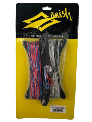 Naish 24m Flying Line Set (set of 4) - Red / Left, Blue / Right, Gray / Middle