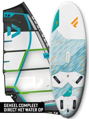Fanatic Windsurfset Gecko HRS + E_Pace Groen