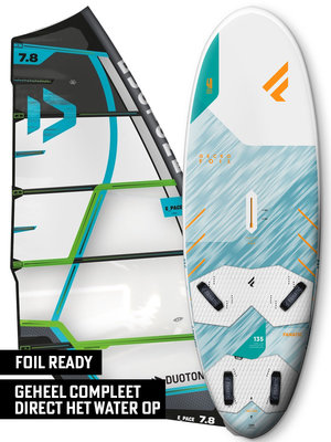 Fanatic Windsurfset Gecko HRS 135 Foil + E_Pace Green
