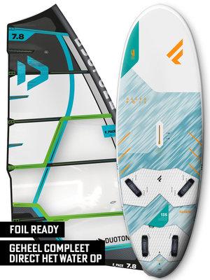 Fanatic Windsurfset Gecko HRS 135 Foil + E_Pace Groen
