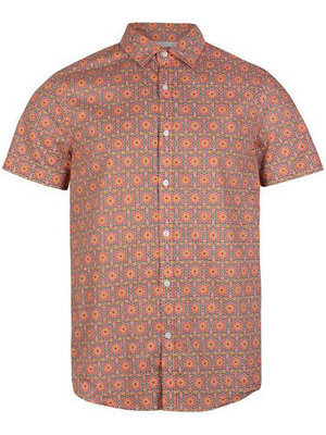 O'neill Taghazout S/Slv Shirt Red