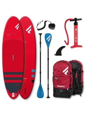 Fanatic Complete SUP set Fly Air Pure Red 2021