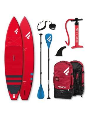 Fanatic Complete SUP Set Ray Air Pure Rood 2021