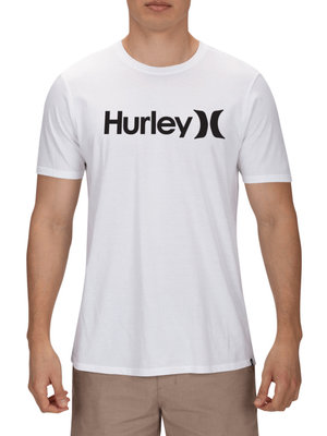 HURLEY One & Only Solid T-Shirt Wit