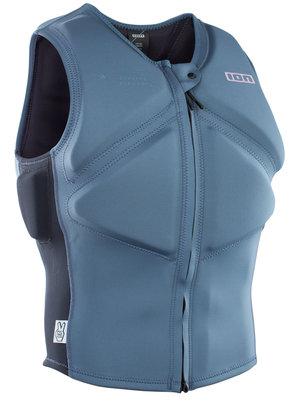 ION Kids Vector Vest Amp FZ Blauw