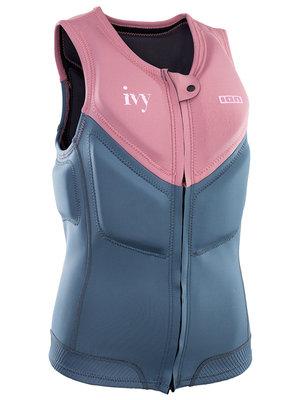 ION Dames Impact Vest Ivy FZ Roze