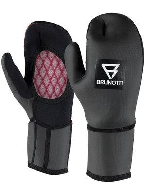 Brunotti RDP Mitten Open Palm Glove 2mm Black
