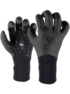 Brunotti RDP Pre Curved Glove 3mm Zwart