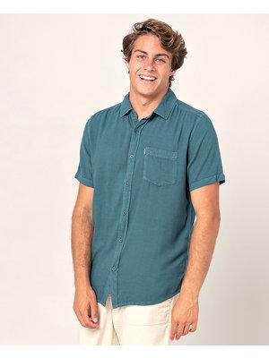 Ripcurl New Ventura Shirt Ss Blue