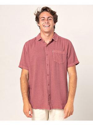Ripcurl New Ventura Shirt Ss Red