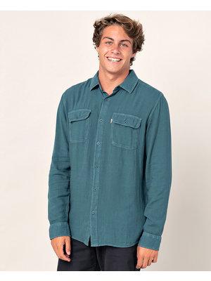 Ripcurl L/S Eco Ventura Shirt Blauw