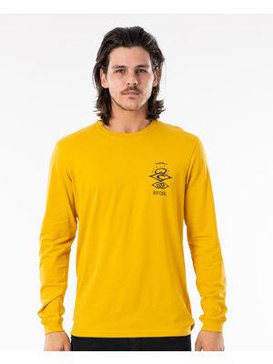Ripcurl Search Essential L/S T-Shirt Geel