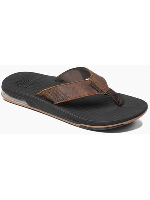 Reef Leather Fanning Low Bruin