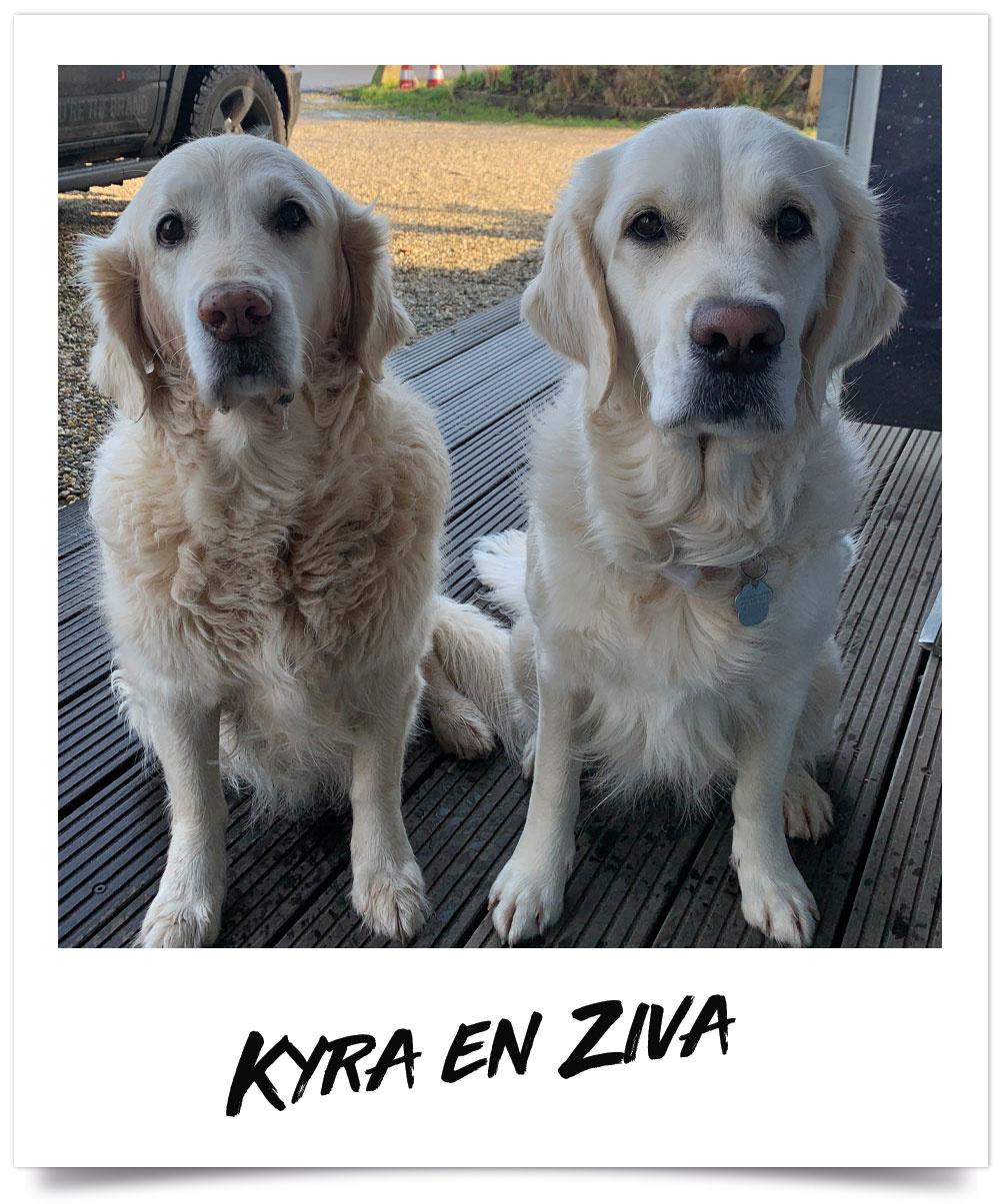 Kyra en Ziva - Eurofuncenter Crew