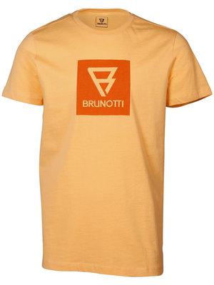 Brunotti John Logo Mens T-Shirt Orange