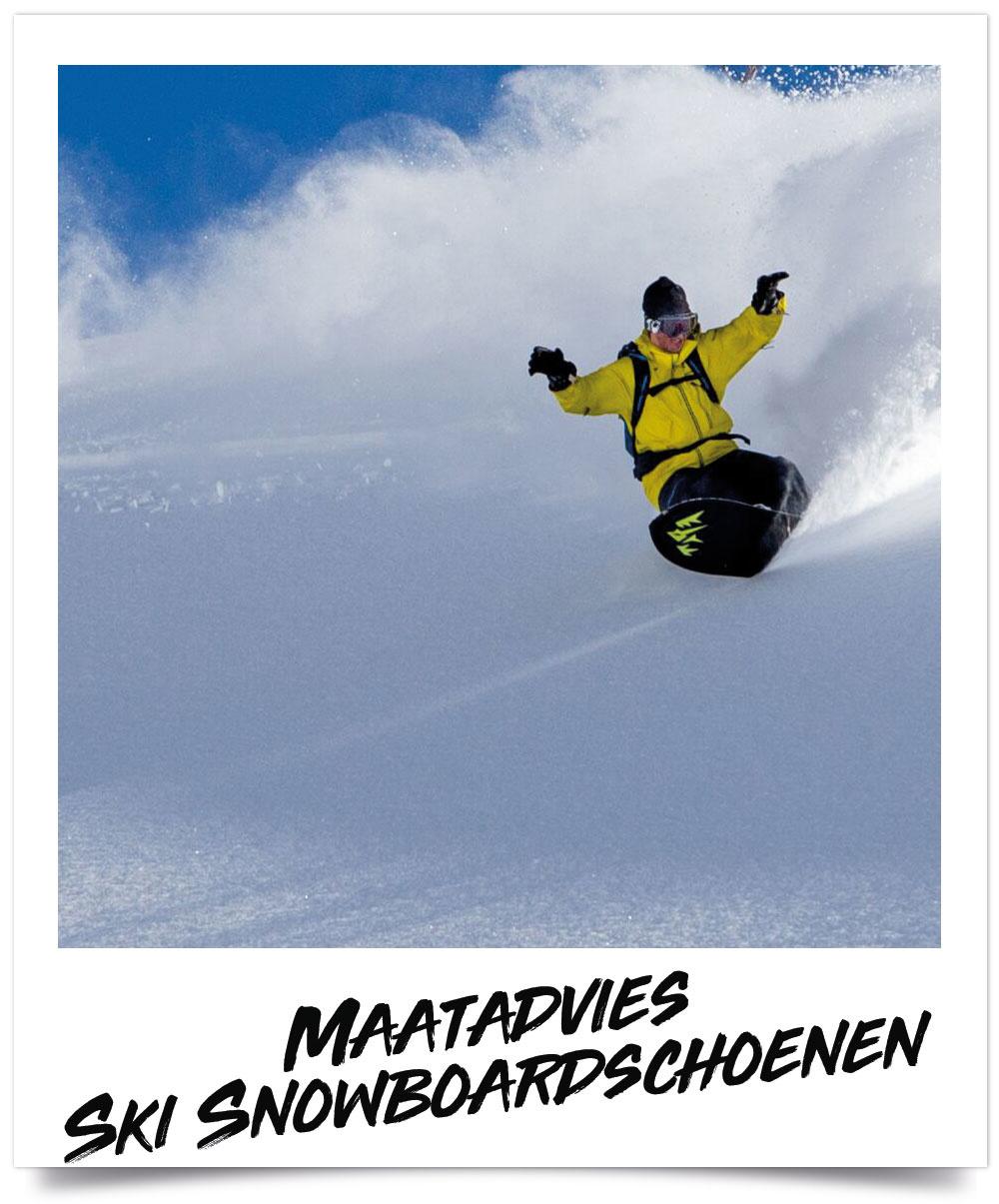 Maattabel Ski & Snowboardschoenen