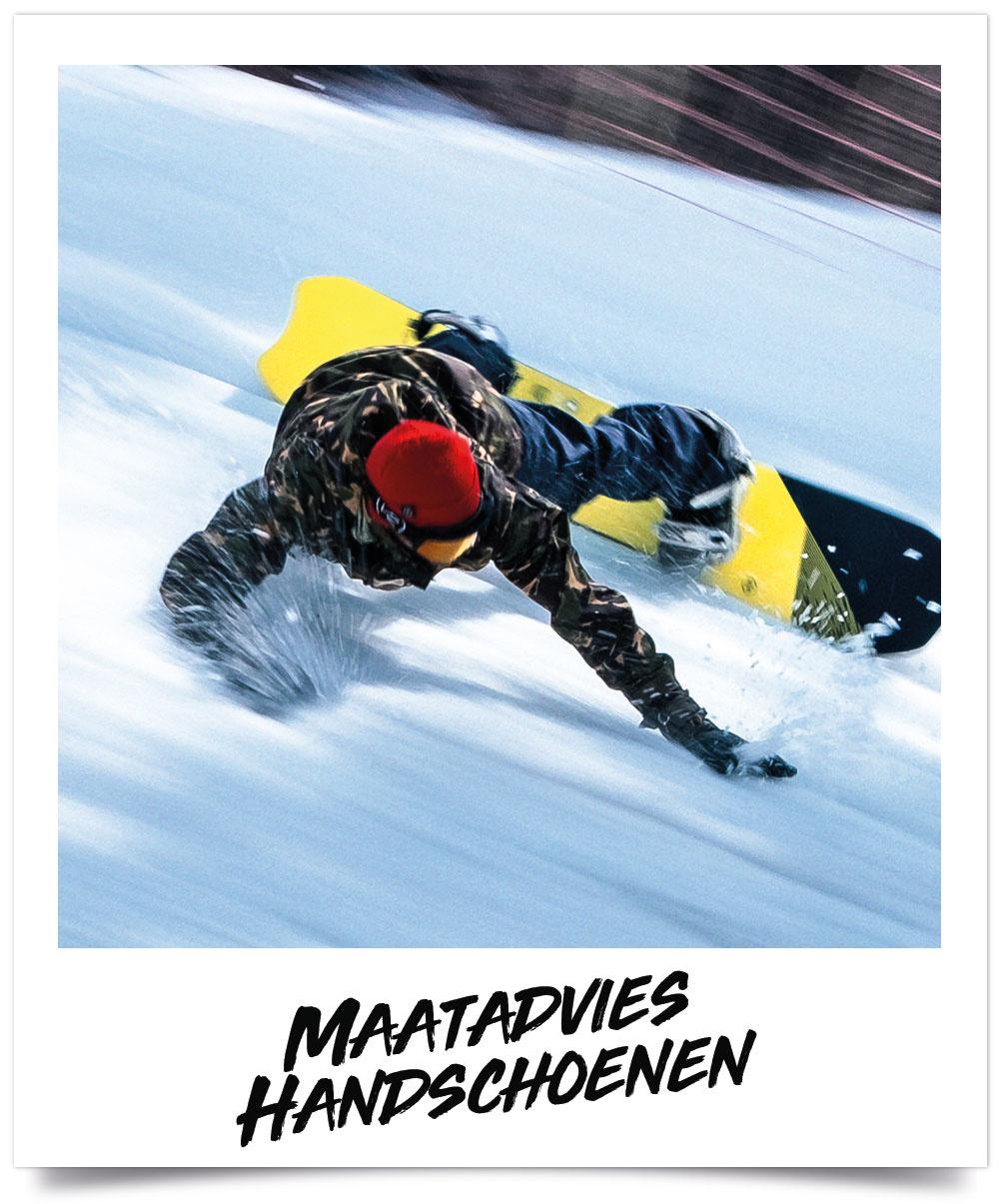 Maattabel Ski en snowboardhandschoenen